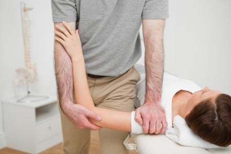 Rééducation de l'épaule